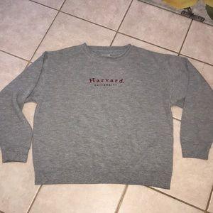 Vintage Harvard university thermal sweater  sz L